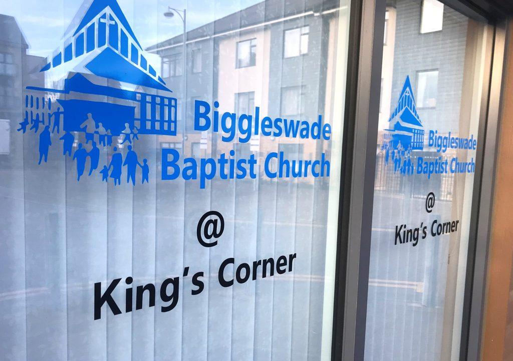 Photo of King's Corner building