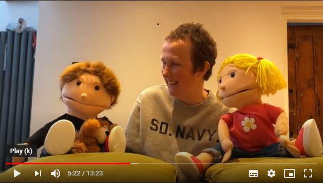 Screenshot of Sunday Club video